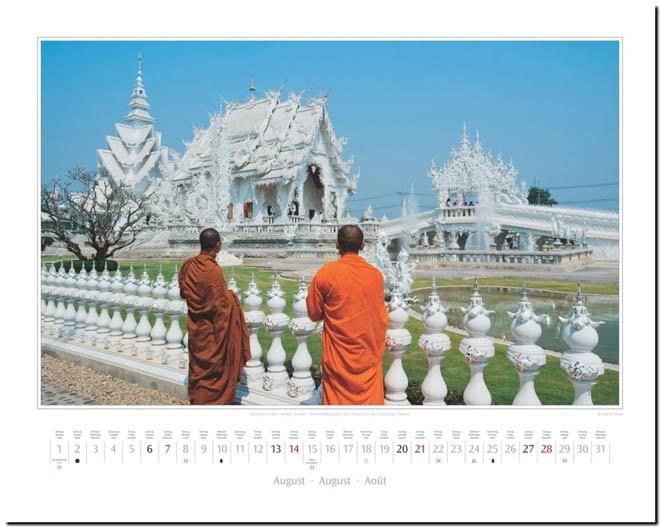 Monatsblatt August: Kalender 2016 Südostasien | Fotos Mario Weigt | Verlagshaus Würzburg / Stürtz