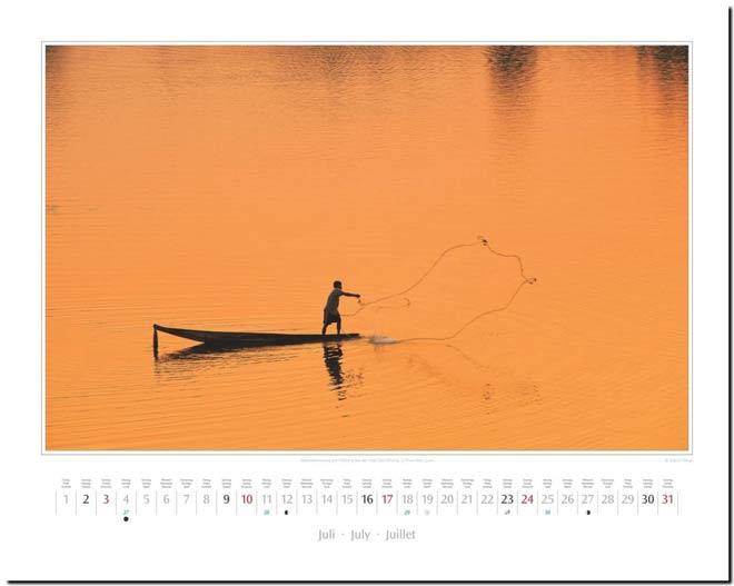 Monatsblatt Juli: Kalender 2016 Südostasien | Fotos Mario Weigt | Verlagshaus Würzburg / Stürtz