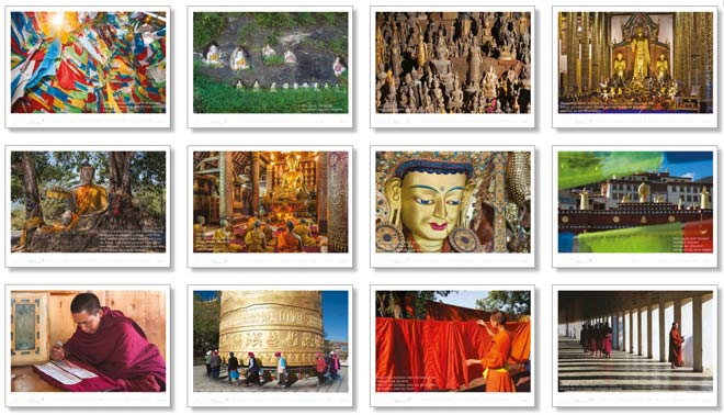 Alle Motive vom Kalender 2016 Meditation Buddha | Fotos Mario Weigt | WeitSicht Verlag München