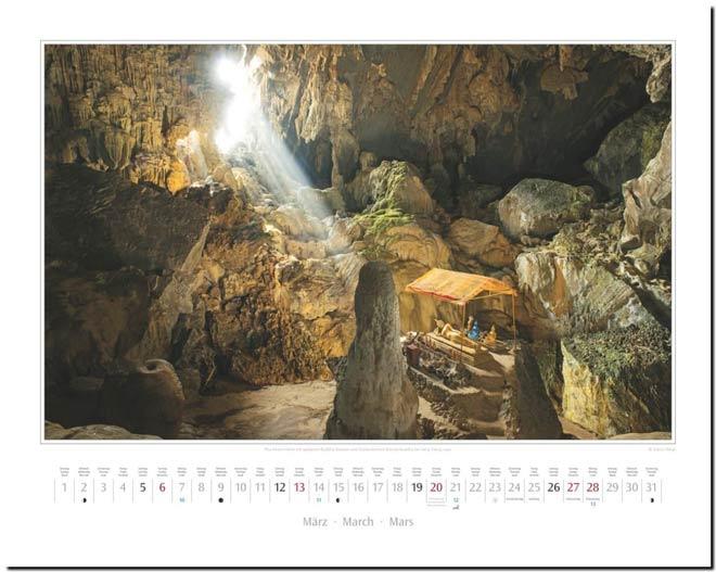 Monatsblatt März: Kalender 2016 Südostasien | Fotos Mario Weigt | Verlagshaus Würzburg / Stürtz