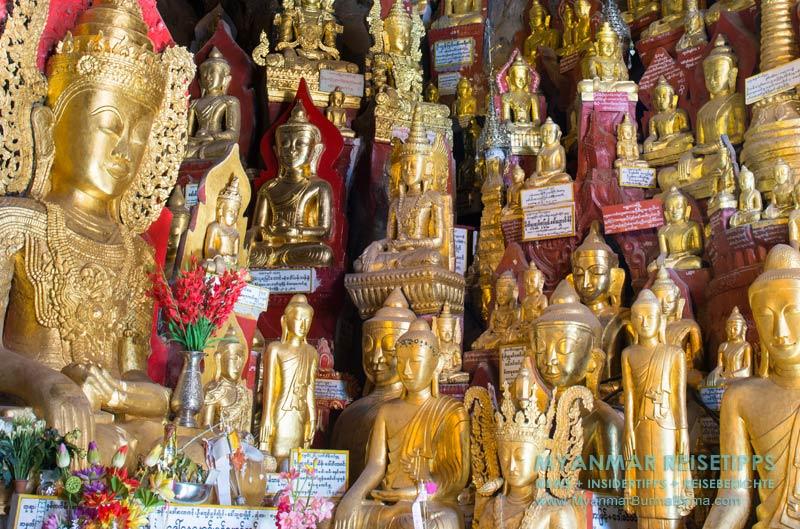 Myanmar Reisetipps | Pindaya und die Höhlen