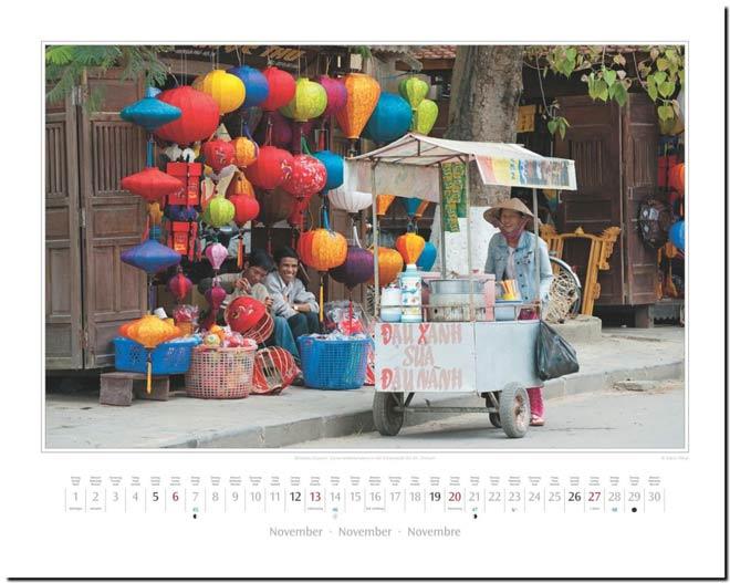 Monatsblatt November: Kalender 2016 Südostasien | Fotos Mario Weigt | Verlagshaus Würzburg / Stürtz