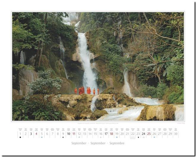 Monatsblatt September: Kalender 2016 Südostasien | Fotos Mario Weigt | Verlagshaus Würzburg / Stürtz