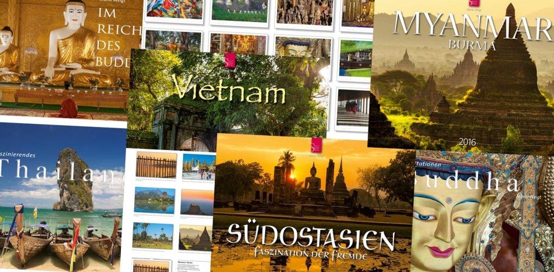 Die schönsten Kalender zum Thema Asien für 2016