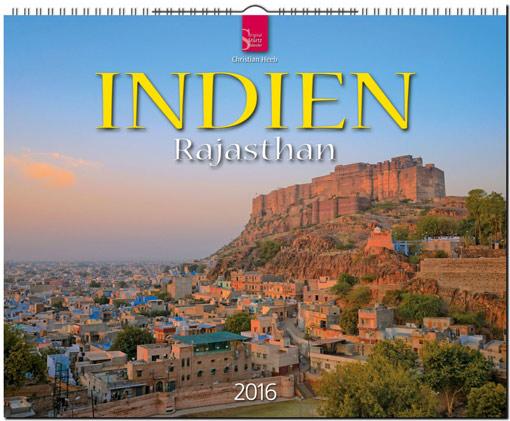 Indien Kalender 2016 | Fotos Christian Heeb | Verlagshaus Würzburg/Stürtz