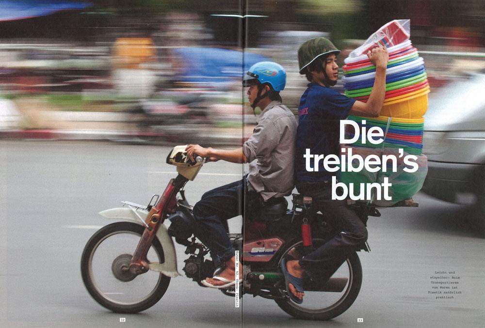 Veröffentlichung im Magazin Fluter| Artikel: Die treiben's bunt | Foto: Mario Weigt