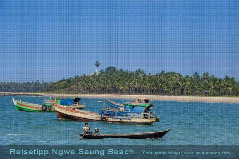 Strände in Myanmar (Burma): Reistipps für den Ngwe Saung Beach