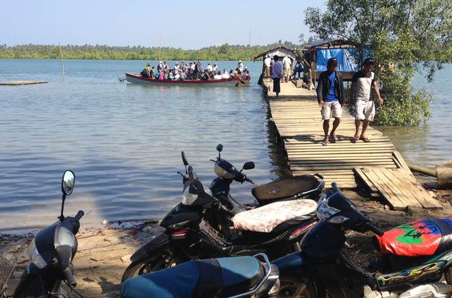 trände in Myanmar (Burma) | Reistipps für den Ngwe Saung Beach | Übersetzen auf der 3. und damit letzten Fähre vom Ngwe Saung Beach zum Strand in Chaungtha