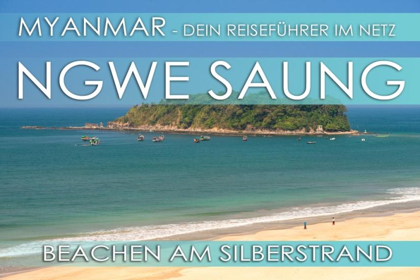 Reisetipps Myanmar - Ngwe Saung Beach (Silberstrand)