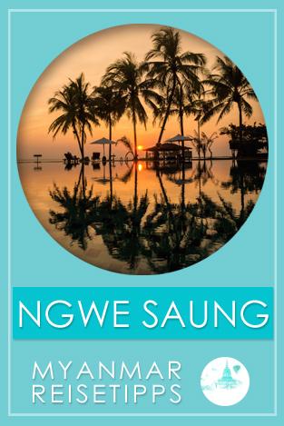 Myanmar Reisetipps | Ngwe Saung Beach