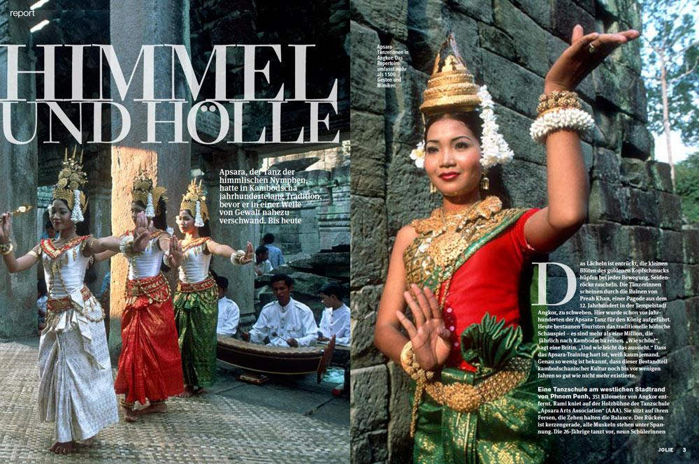 Veröffentlichung im Magazin JOLIE | Artikel: Himmel und Hölle | Text und Fotos: Annett und Mario Weigt