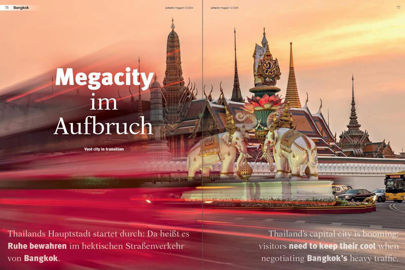 Veröffentlichung im Air Berlin Magazin | Artikel: Megacity im Aufbruch | Text: Annett Weigt | Fotos: Mario Weigt