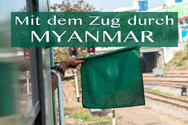 Film von Alexander Schweitzer: Mit dem Zug durch Myanmar