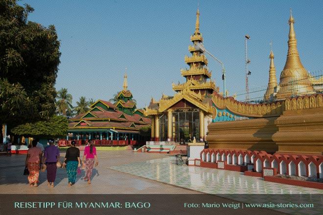 Reisetipps Myanmar (Burma): Ausflug zur Shwemawdaw-Pagode in Bago