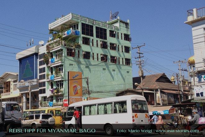 Reisetipps Myanmar (Burma): Hotel Emperor in Bago