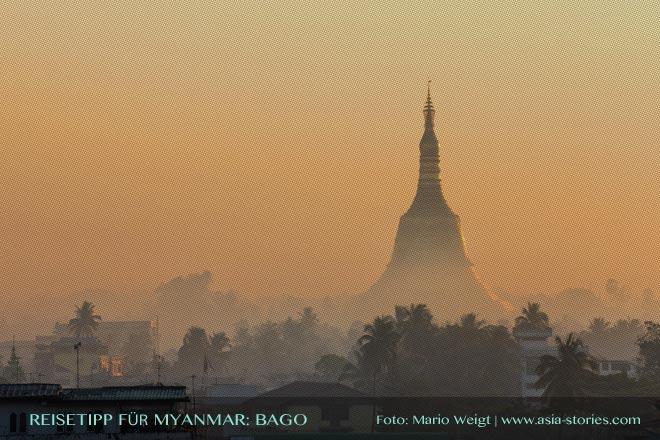 Reisetipps Myanmar (Burma): Shwemawdaw-Pagode in Bago