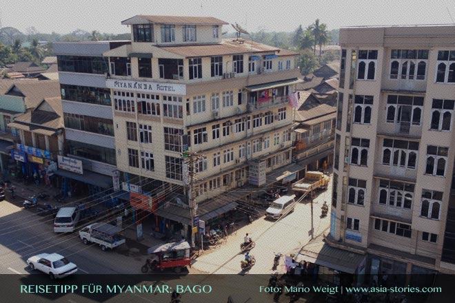 Reisetipps Myanmar (Burma): Mya Nanda Hotel in Bago