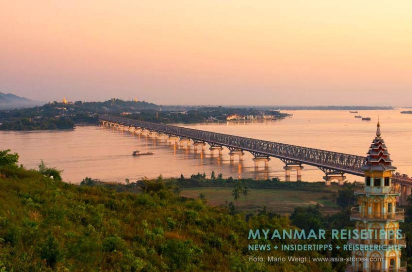 Myanmar Reisetipps   Mawlamyaing (Mawlamyine)   Blick auf die Stadt