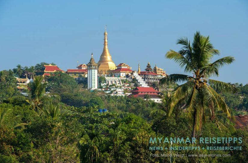 Myanmar Reisetipps   Mawlamyaing (Mawlamyine)   Pagode Kyaik Than Lan