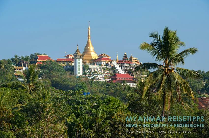 Myanmar Reisetipps | Mawlamyaing (Mawlamyine) | Pagode Kyaik Than Lan