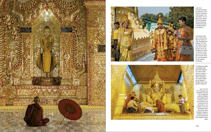 Mandalay | Premium Bildband MYANMAR | BURMA | Fotos: Mario Weigt | Verlagshaus Würzburg / Stürtz