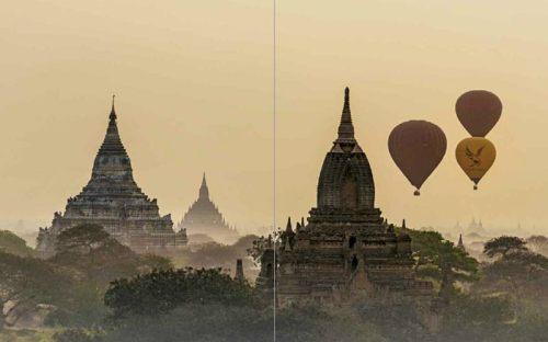 Tempelebene Bagan | Premium Bildband MYANMAR | BURMA | Fotos: Mario Weigt | Verlagshaus Würzburg / Stürtz