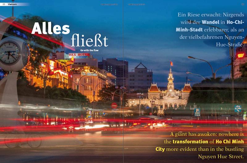 Veröffentlichung im AirBerlin-Magazin | Artikel: Alles fließt ... | Text und Fotos: Annett und Mario Weigt