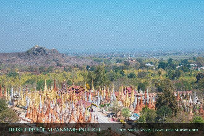 Reisetipps Myanmar (Burma): Ausflug nach Indein vom Inle-See | Foto: Mario Weigt | Premium Bildband MYANMAR | BURMA | Verlagshaus Würzburg/Stürtz
