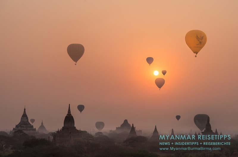 Myanmar Reisetipps | Tempelebene Bagan