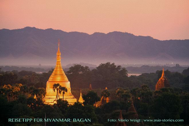 Reisetipps Myanmar (Burma): Pagoden in Bagan | Foto: Mario Weigt | Premium Bildband MYANMAR | BURMA | Verlagshaus Würzburg/Stürtz