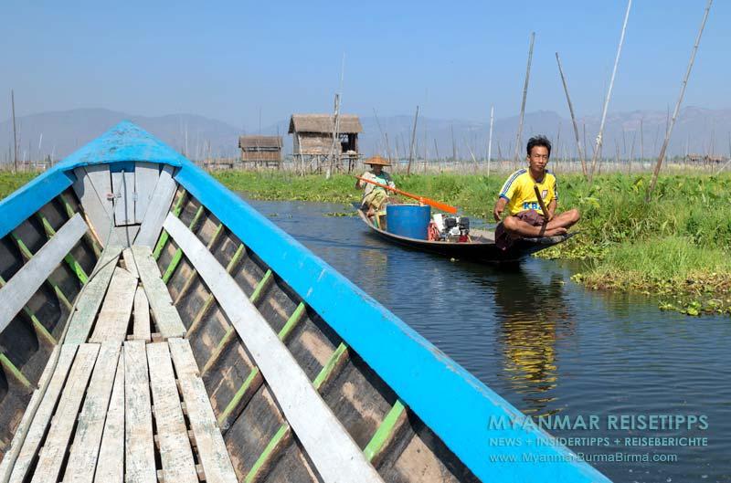 Myanmar Reisetipps | Inle-See und Indein