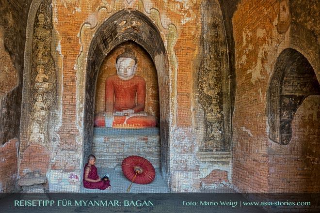 Reisetipps Myanmar (Burma): Tempelebene in Bagan | Foto: Mario Weigt | Premium Bildband MYANMAR | BURMA | Verlagshaus Würzburg/Stürtz