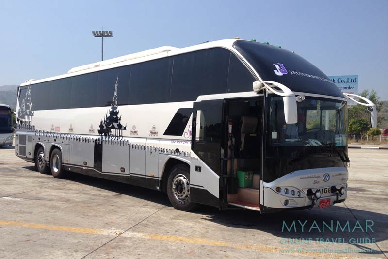 Myanmar Reisetipps | Bagan | JJ Express von Yangon