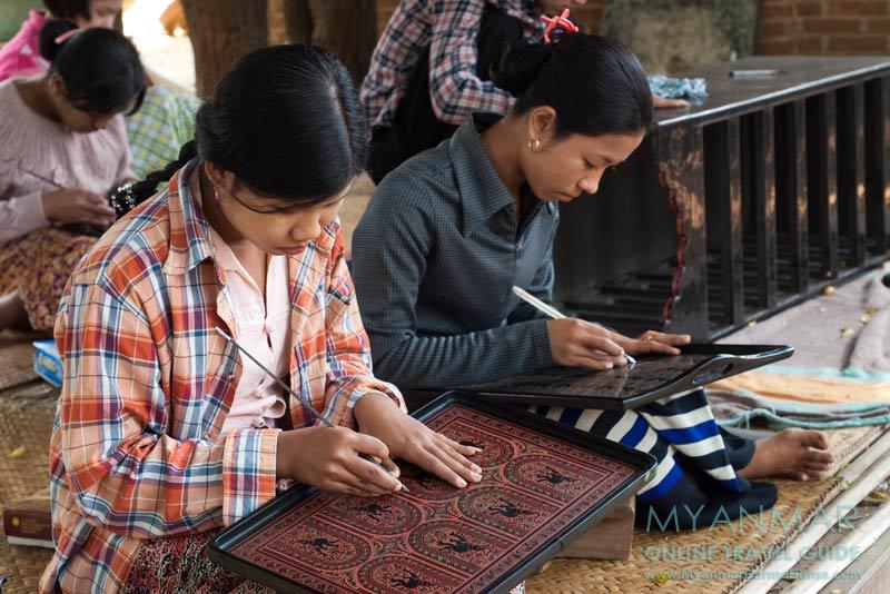 Myanmar Reisetipps | Bagan | Lackware