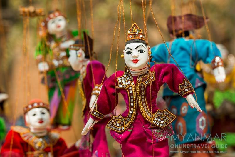 Myanmar Reisetipps | Bagan | Marionetten