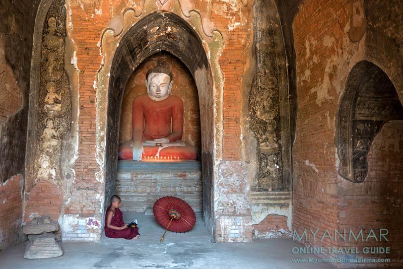Myanmar Reisetipps | Bagan | Lesender Novize