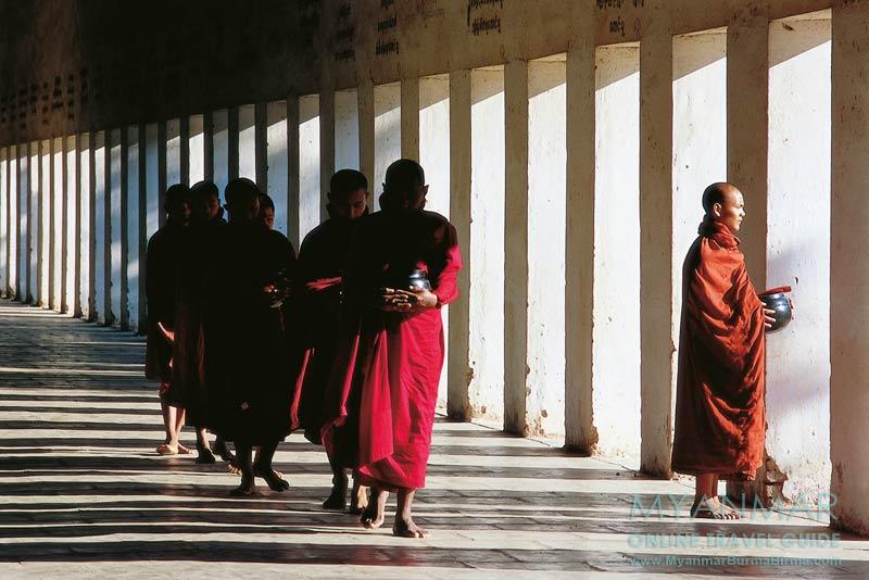 Myanmar Reisetipps | Bagan | Eingang zur Shwezigon-Pagode