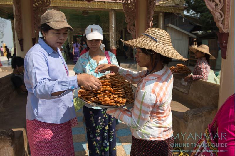 Myanmar Reisetipps | Bagan | Snack für Zwischendurch