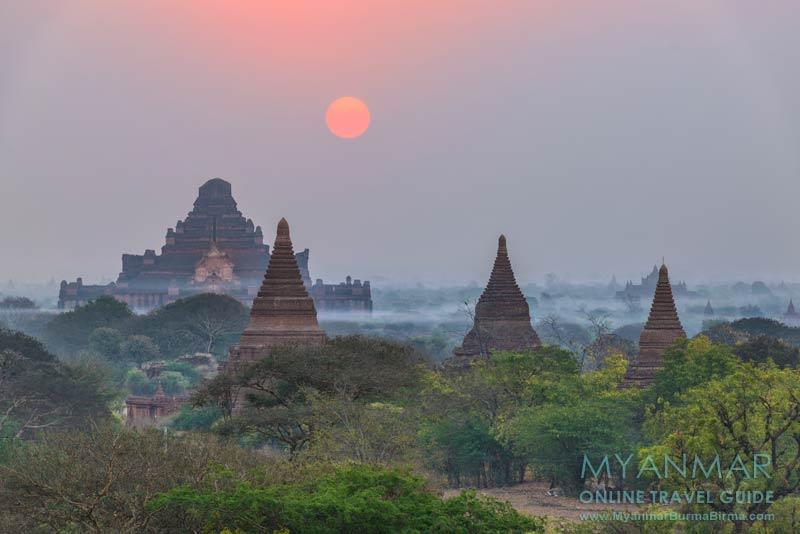 Myanmar Reisetipps | Bagan | Sonnenaufgang