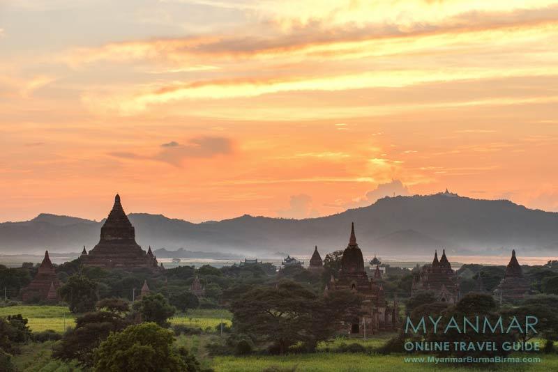 Myanmar Reisetipps | Bagan | Sonnenuntergang