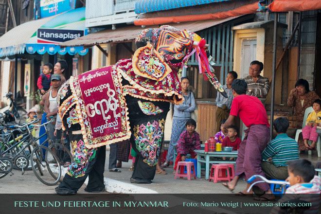 Myanmar Reisetipps | Feste und Feiertage 2017