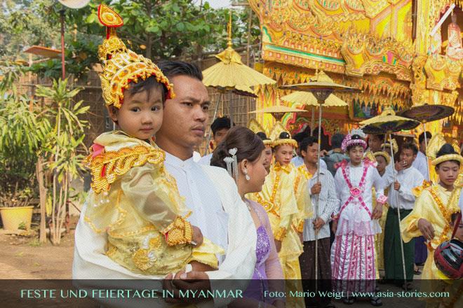 Myanmar Reisetipps | Feste und Feiertage 2016 + 2017