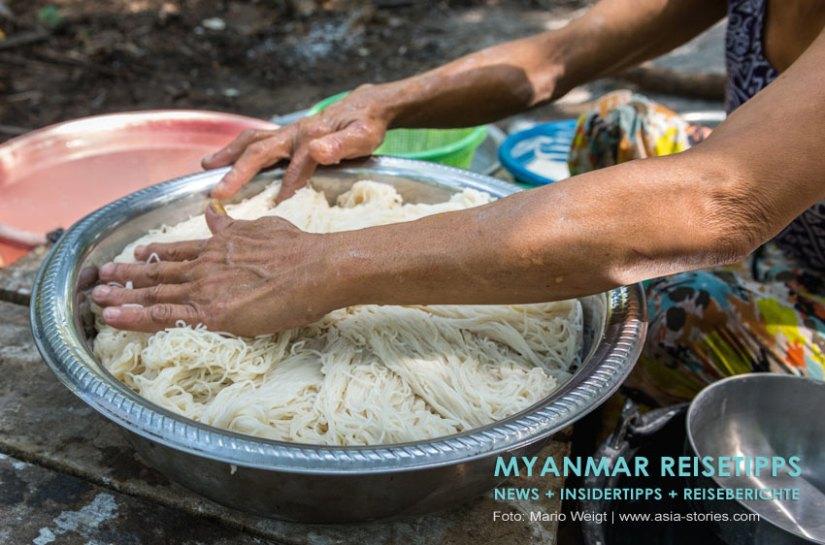 Myanmar - Nationalgericht Mohinga