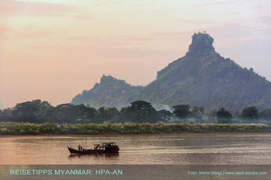 Hpa-an und Umgebung: Orte in Myanmar (Burma), die jeder Reisende auf jeden Fall besuchen sollte.
