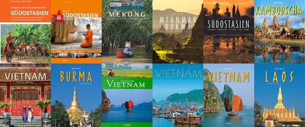 Bildbände und andere Bücher mit Thema Südostasien