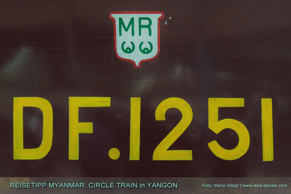 Myanmar Reisetipps | Circular Train | Ringbahn in Yangon