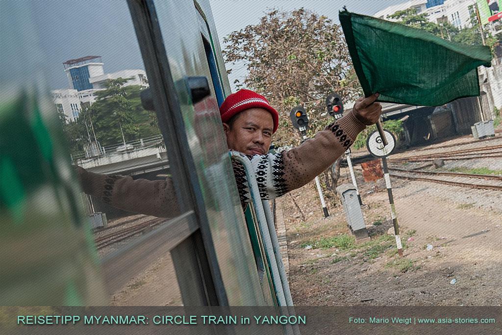 Myanmar Reisetipps | Los geht's! Einmal rund um Yangon mit der Ringbahn (Yangon Circular Train)