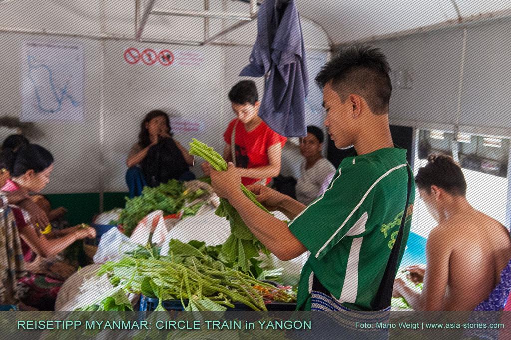 Myanmar Reisetipps | Yangon Circular Train | Ringbahn in Yangon