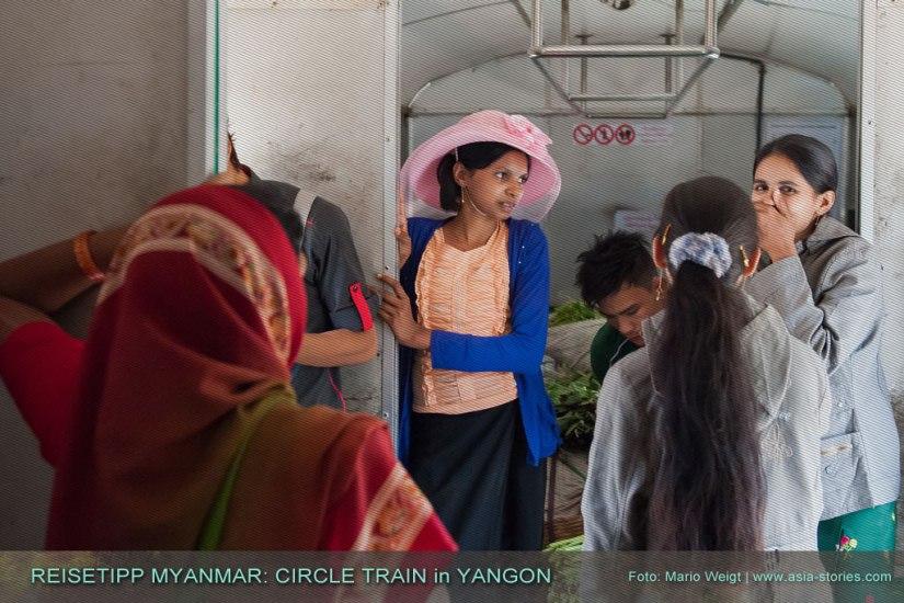 Reisetipp Myanmar: Circle Train | Ringbahn in Yangon