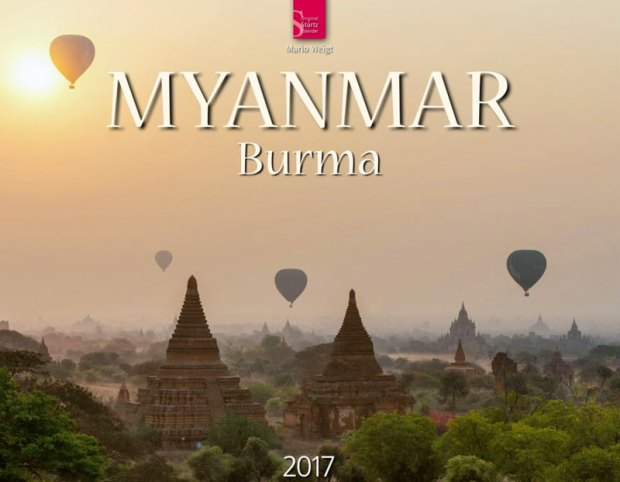 Titelbild vom Wandkalender 2017 Myanmar | Burma